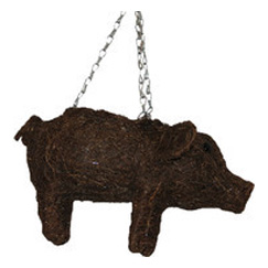 Hanging Brushwood Pig