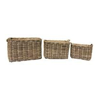 Thick Rattan Rectangular Log