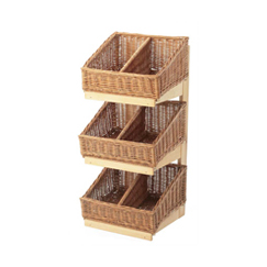 3 Tier Shelf Display Unit (Not including baskets)