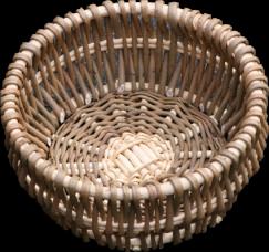 Rustic Round Bowl