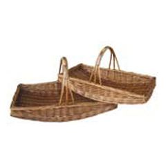 Large Buff Garden Trug