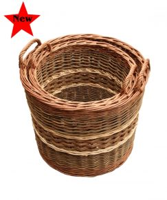 Glastonbury Log Basket