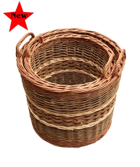 Glastonbury Log Basket