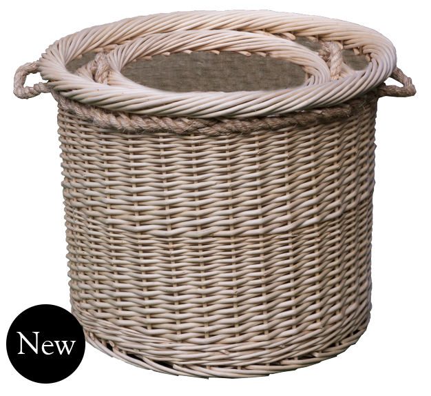 Deluxe Rope Handled Log with Liner