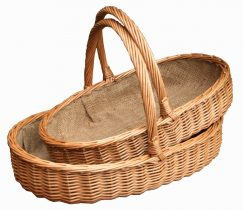 Lined Harrogate Trug