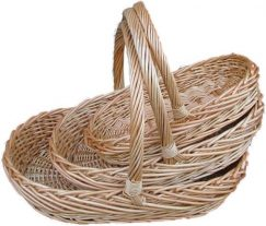 Oval Buff Trug