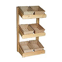 Large Shop Display Basket Stand