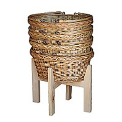 Swing Handle Market Basket Stand