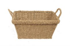 Seagrass Oblong Tote Basket