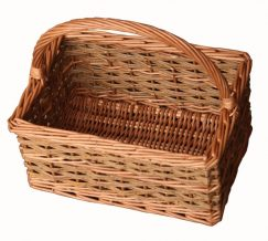 Small Rustic Rectangular Basket