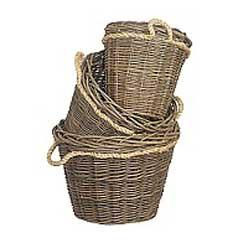 Green Ash Rope Handled Log Basket