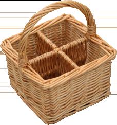 Cutlery/Glass Basket