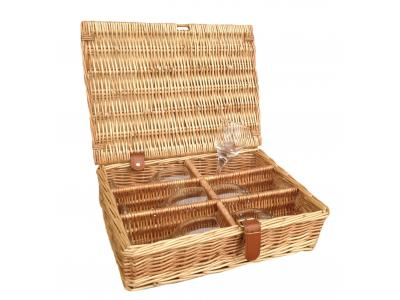 6 Glass Hamper