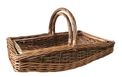 Unpeeled Willow Garden Trug