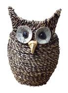 Woven Owl Planter