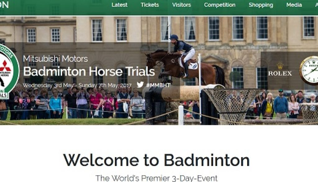Trade Stands Badminton Horse Trials : Jack straws baskets showing at badminton jack straws baskets
