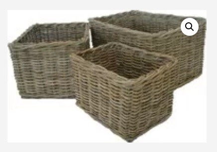 Log Baskets for the Winter for you by Jack Straws