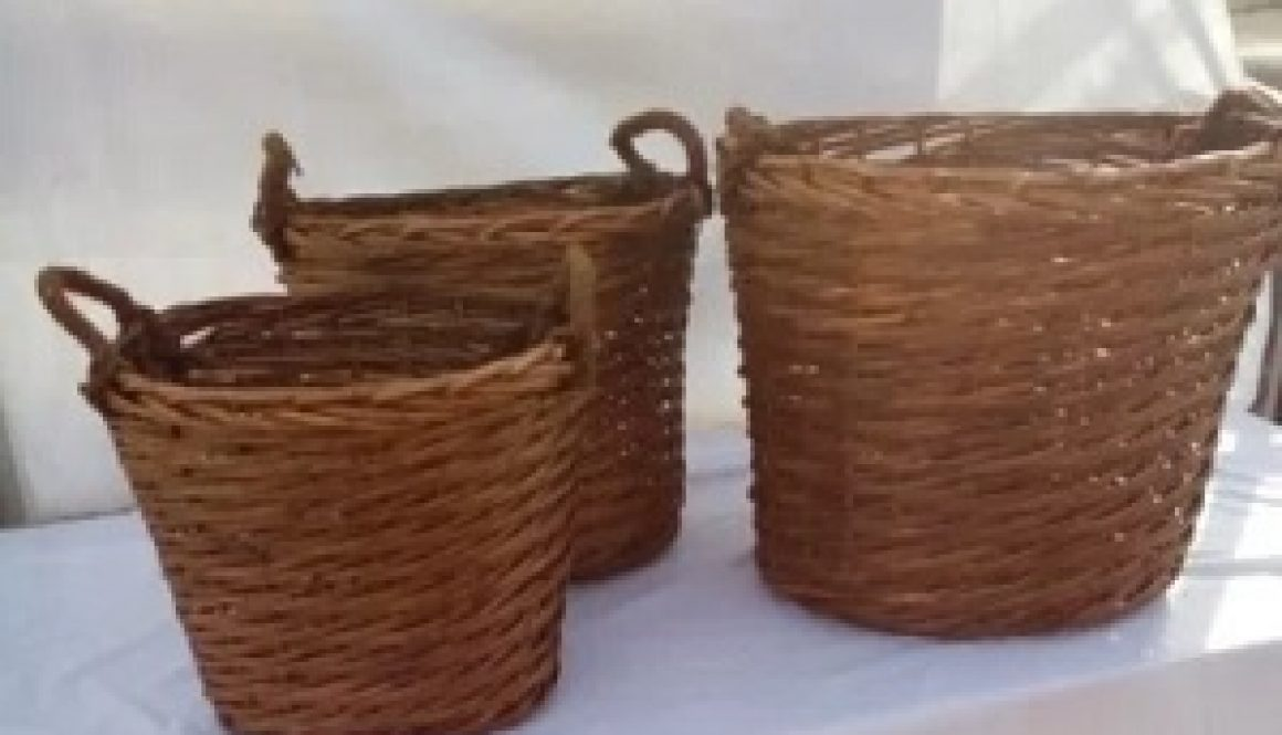 Jack Straw's Willow Log Baskets Sale is now on