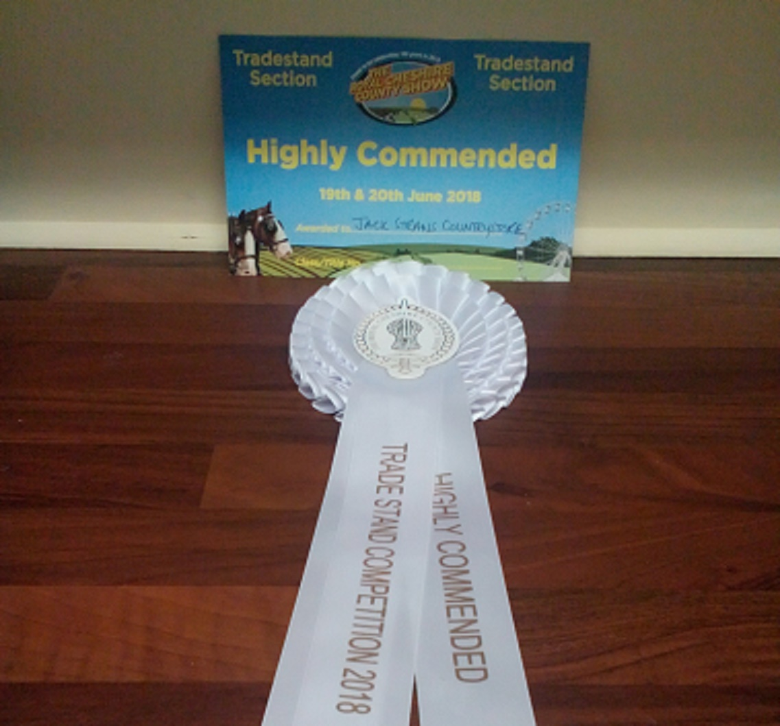Jack Straws Baskets wins at Cheshire Show