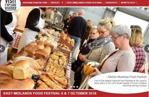 Jack Straws Baskets will be bring our award winning stand at the Melton Mowbray Food Festival this weekend.