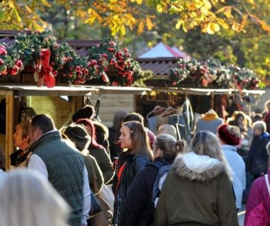 Jack Straws Baskets will again have a stall at the Cheltenham Christmas Fair