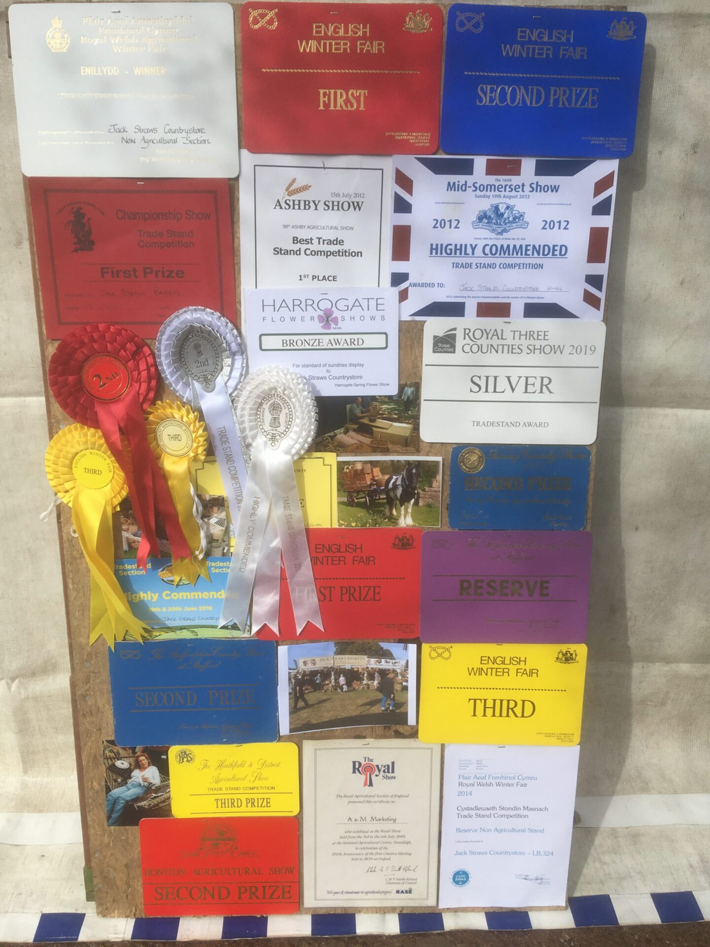 Our Prize Board